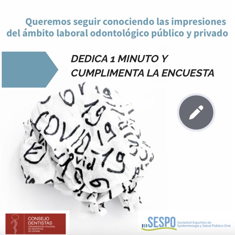 encuesta SESPO COVID19